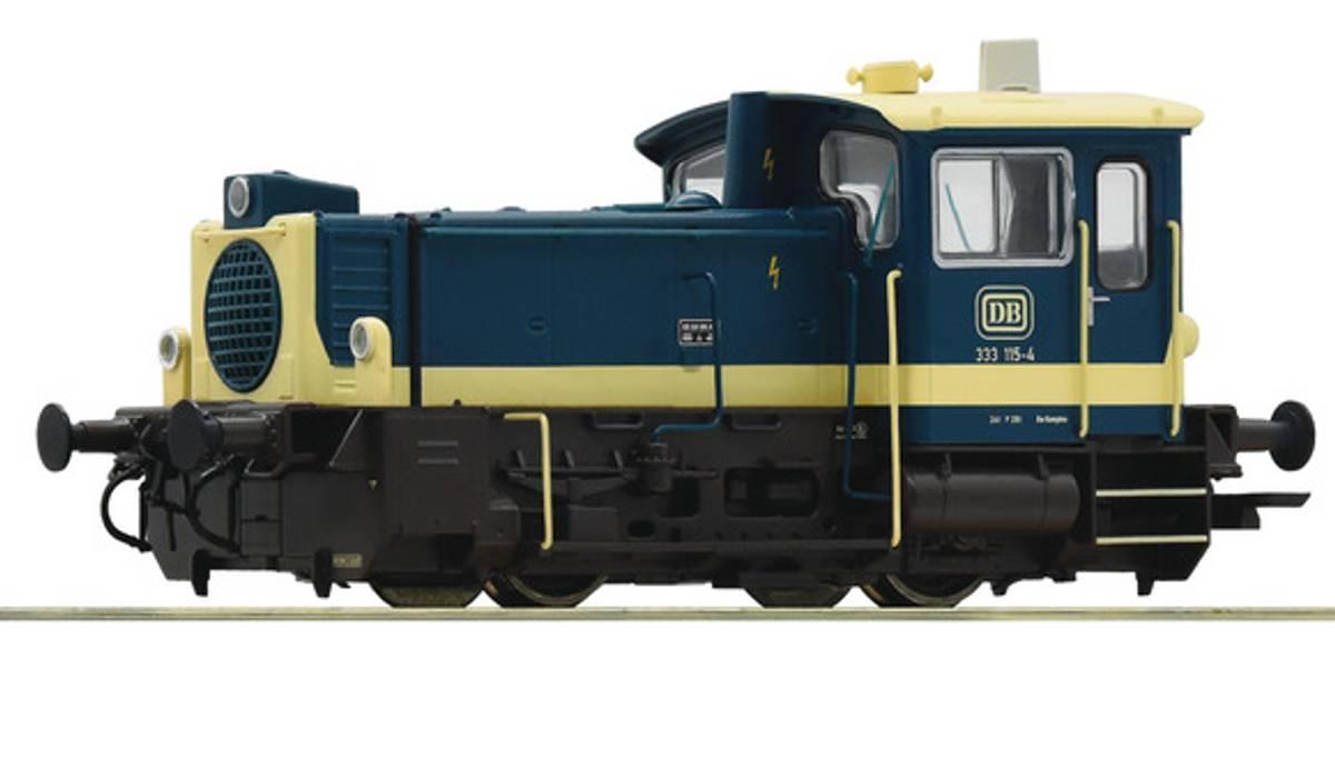 Roco - DB Br333 skiftelok, digitalt m lyd og kobl.