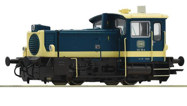 Bilde av Roco - DB Br333 skiftelok, digitalt m lyd og kobl.