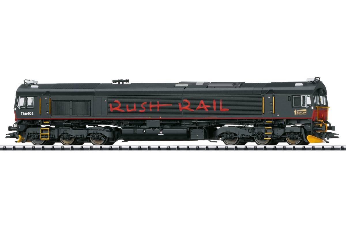 Trix - Rush Rail CD66, digital m.lyd