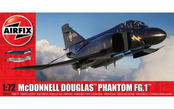 Bilde av Airfix - 1/72 McDonnel Douglas Phantom FG.1
