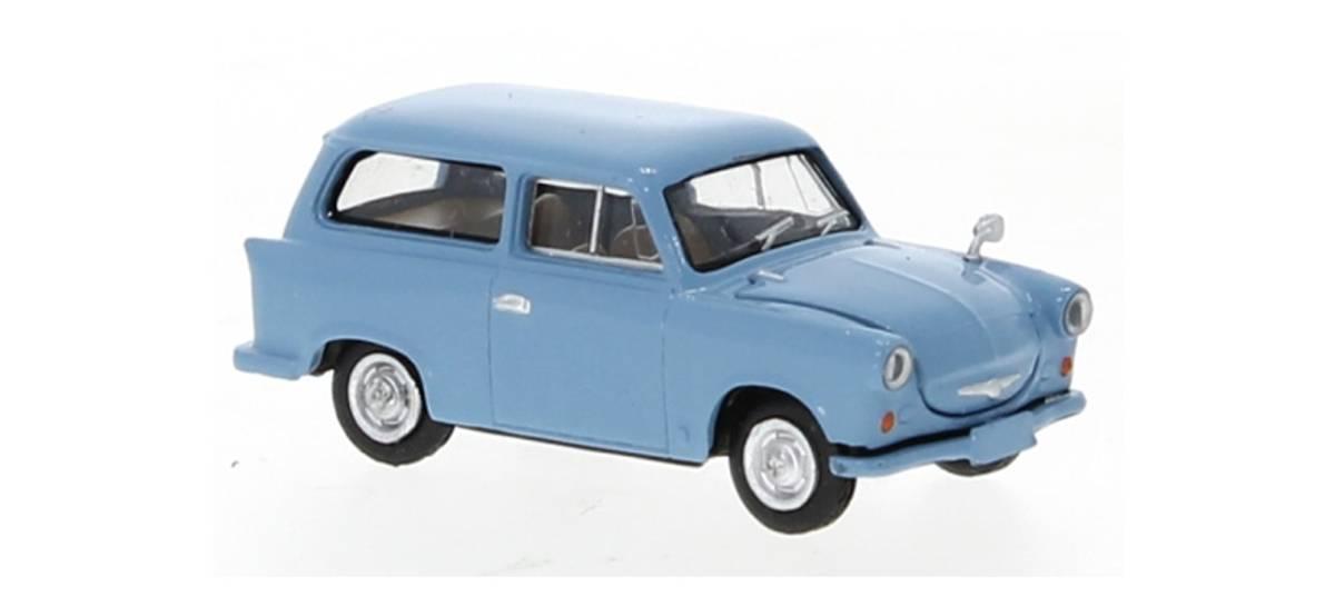 Brekina - Trabant P 50, blå