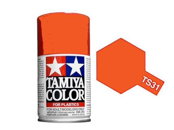 Bilde av Tamiya TS-31 Bright Orange
