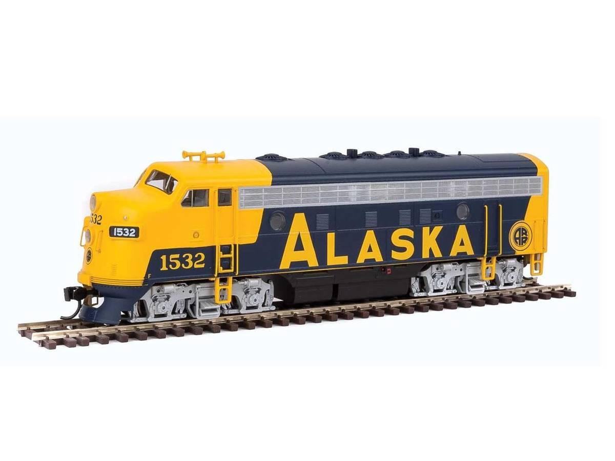 Walthers - Alaska RailRoad, F7A #1532, Digitalt med lyd
