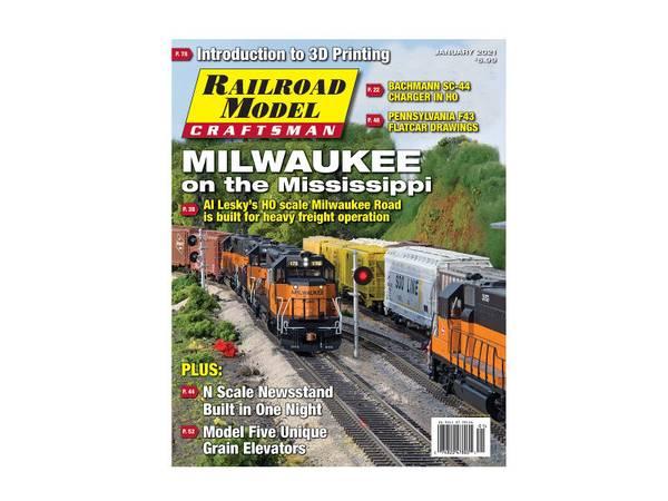 Bilde av Railroad Model Craftsman, januar 2021