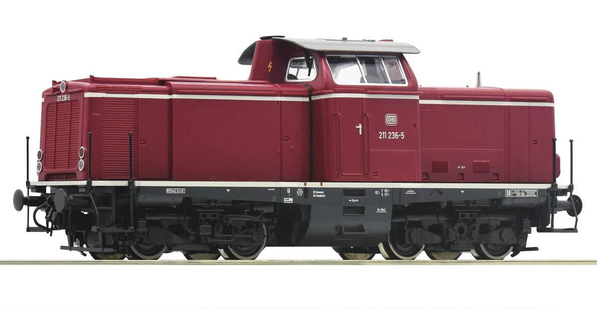 Roco - DB BR211 diesellok, Digitalt m lyd
