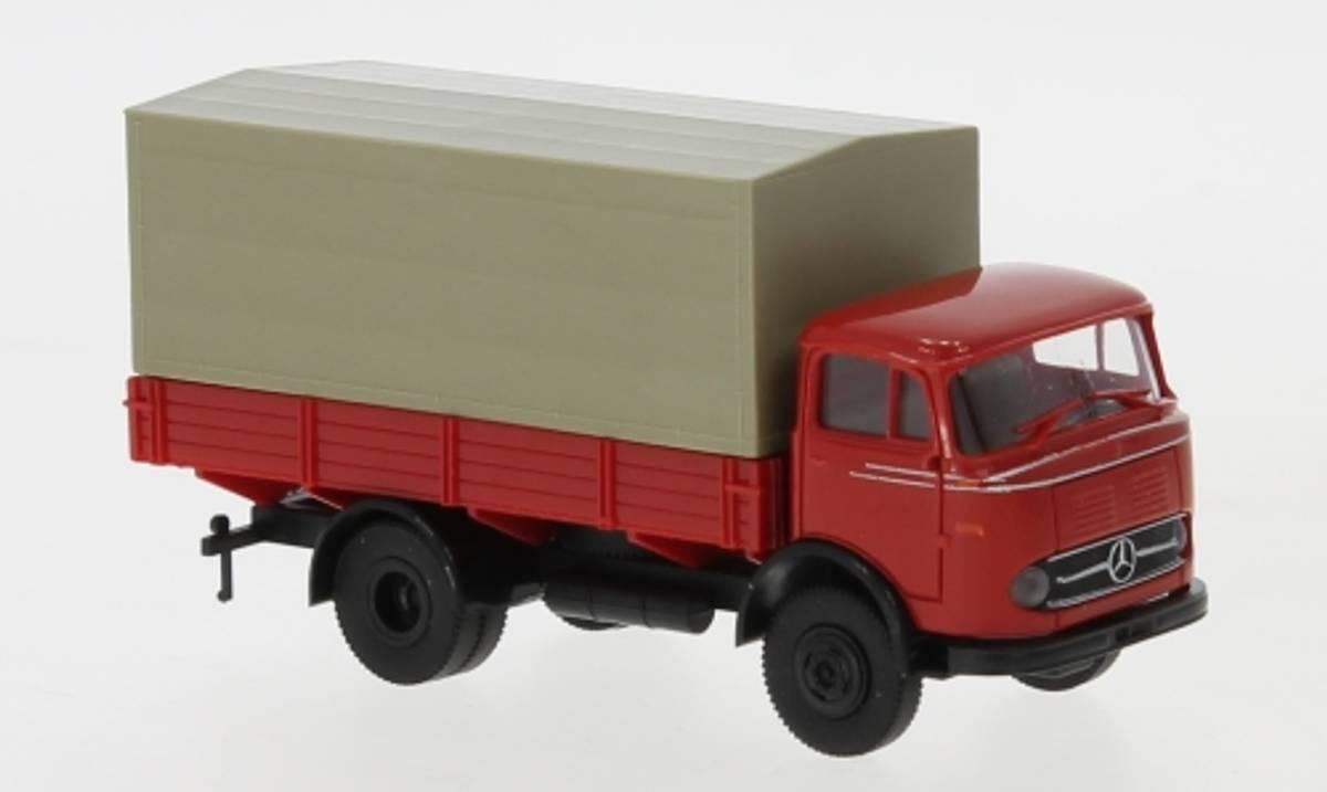 Brekina - Mercedes LP328, rød