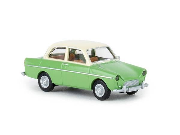 Bilde av Brekina - DAF 600, grønn/beige