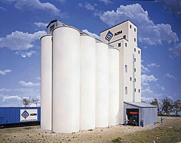 Bilde av Walthers - Siloer, tillegg for ADM Grain Elevator