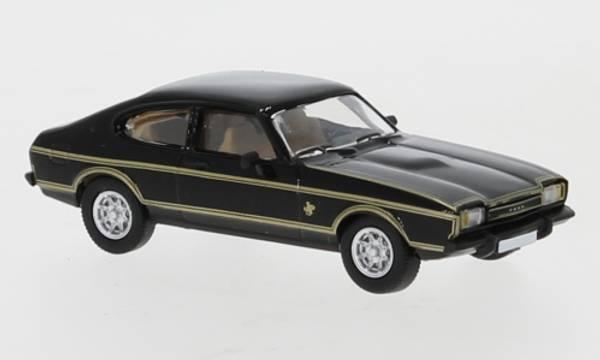 Bilde av PCX87 - Ford Capri MKII, sort m gullstripe
