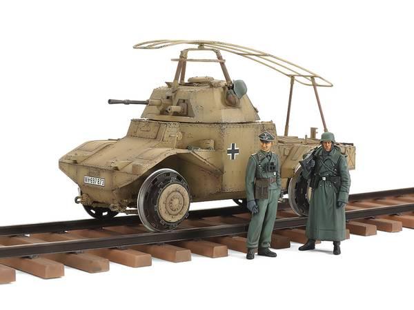 Bilde av Tamiya - 1/35 German Armoured Railway Vehicle, P204f