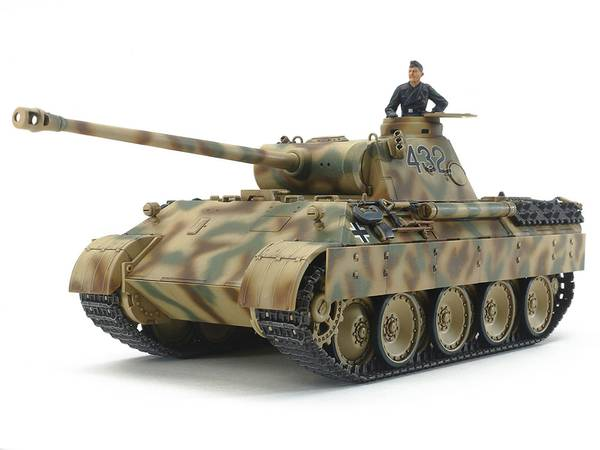 Bilde av Tamiya - 1/48 German Tank Panther Ausf. D