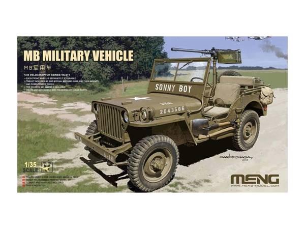 Bilde av Meng - 1/35 Willys Jeep