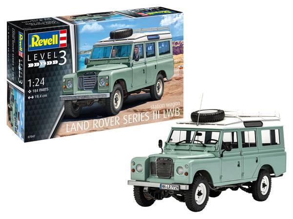 Bilde av Revell - 1/24 Land Rover serie III