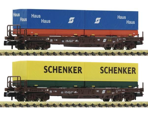 Bilde av Fleischmann N-skala - Öbb containervognsett