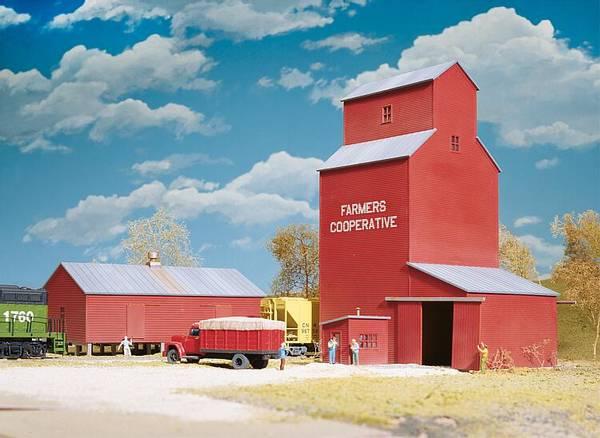 Bilde av Walthers - Farmers Coop, grain elevator