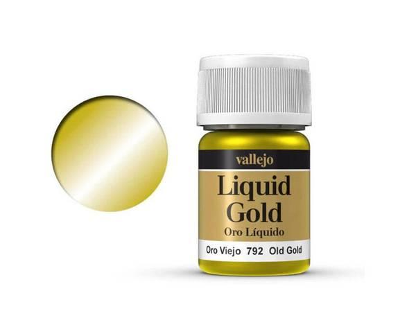Bilde av Vallejo - Liquid Gold, Old Gold Metallic
