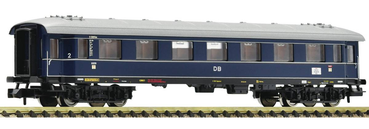 Fleischmann N-skala - DB AB4ü-35 personvogn 2.klasse