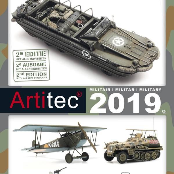 Bilde av Artitec - Katalog militær 2019