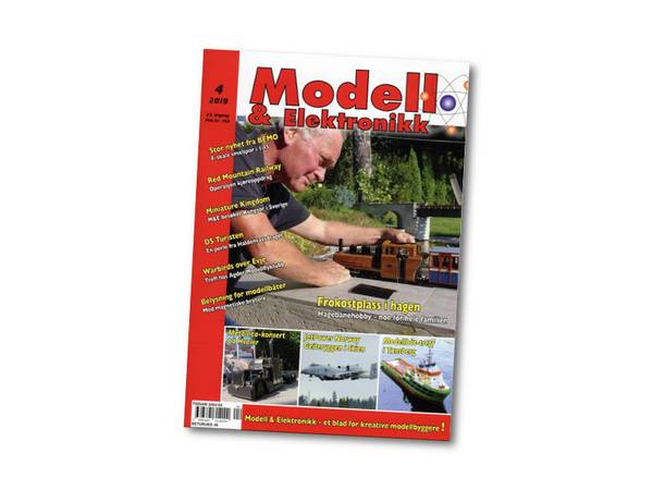 Bilde av Modell & Elektronikk nr. 4 - 2019, Red Mtn. del 3