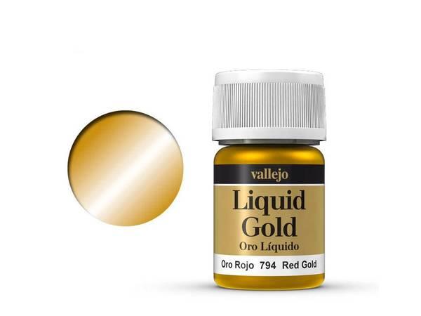 Bilde av Vallejo - Liquid Gold, Red Gold