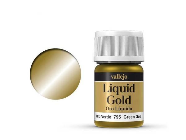 Bilde av Vallejo - Liquid Gold, Green Gold