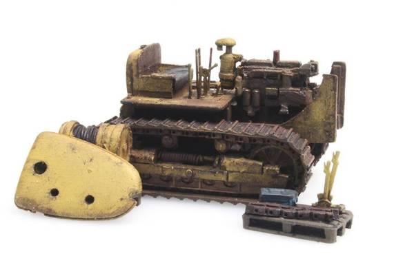 Bilde av Artitec - Bulldozer D7, rusten/demontert, ferdigmodell