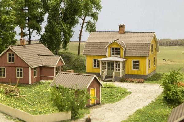 Bilde av Joswood - Nordisk enebolig, gul
