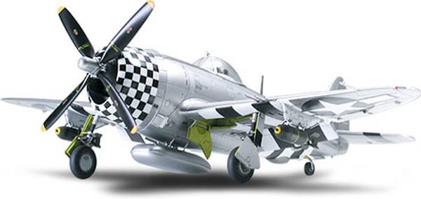 Bilde av Tamiya - 1/48 Thunderbolt P-47D Bubbletop