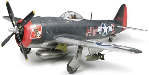 Bilde av Tamiya - 1/48 Thunderbolt P-47M