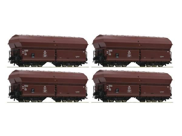 Bilde av Roco - DB bunntømmingsvogner, 4 stk