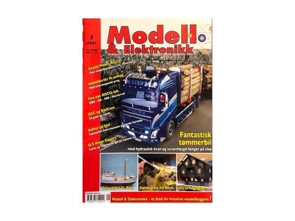 Bilde av Modell & Elektronikk, nr.1 - 2021