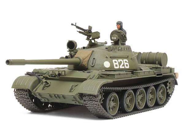 Bilde av Tamiya - 1/48 T55 Russian Medium Tank