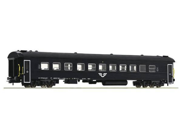 Bilde av Roco - SJ personvogn sort, 2.klasse