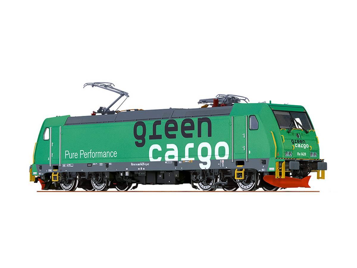 Brawa - Green Cargo Re1428, DC analog