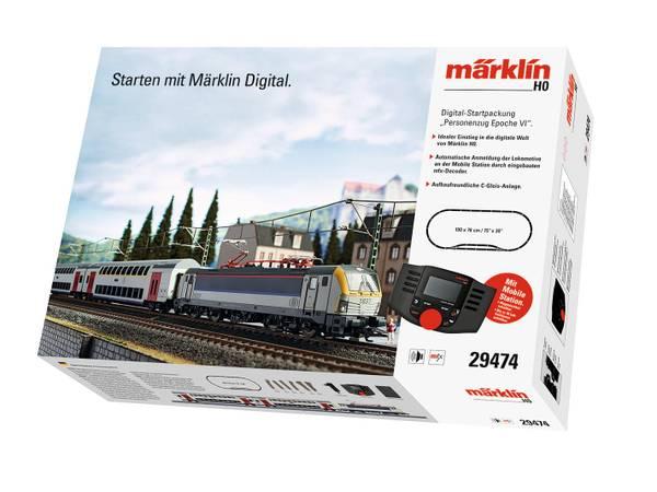 Bilde av Märklin - Digitalt startsett, belgisk persontog