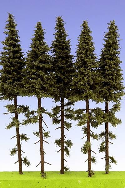 Bilde av Model Scene - Grantrær, 180-220mm, høystammet, 5 stk