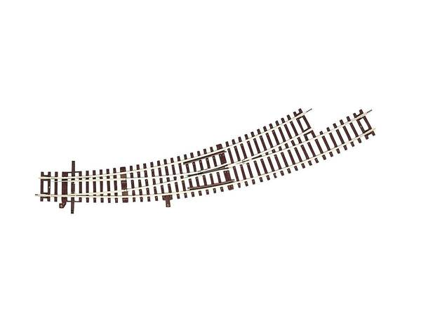 Bilde av RocoLine u.ballast - Sporveksel, buet venstre