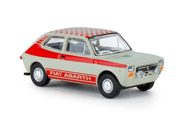 Bilde av Brekina - Fiat 127 Abarth, grå