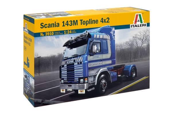 Bilde av Italeri - 1/24 Scania 143M Topline 4x2