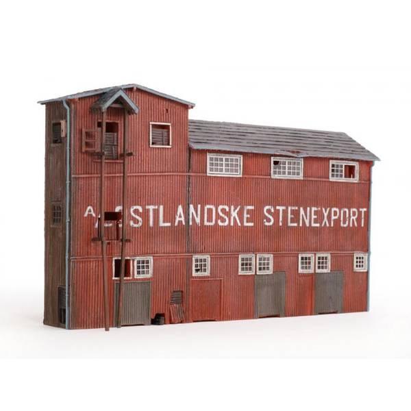 Bilde av NMJ - Østlandske Stenexport bakgr.bygn, ferdigmodell