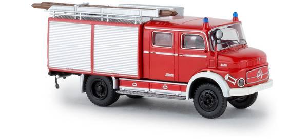 Bilde av Brekina - Mercedes brannbil TLF16, rød/hvit