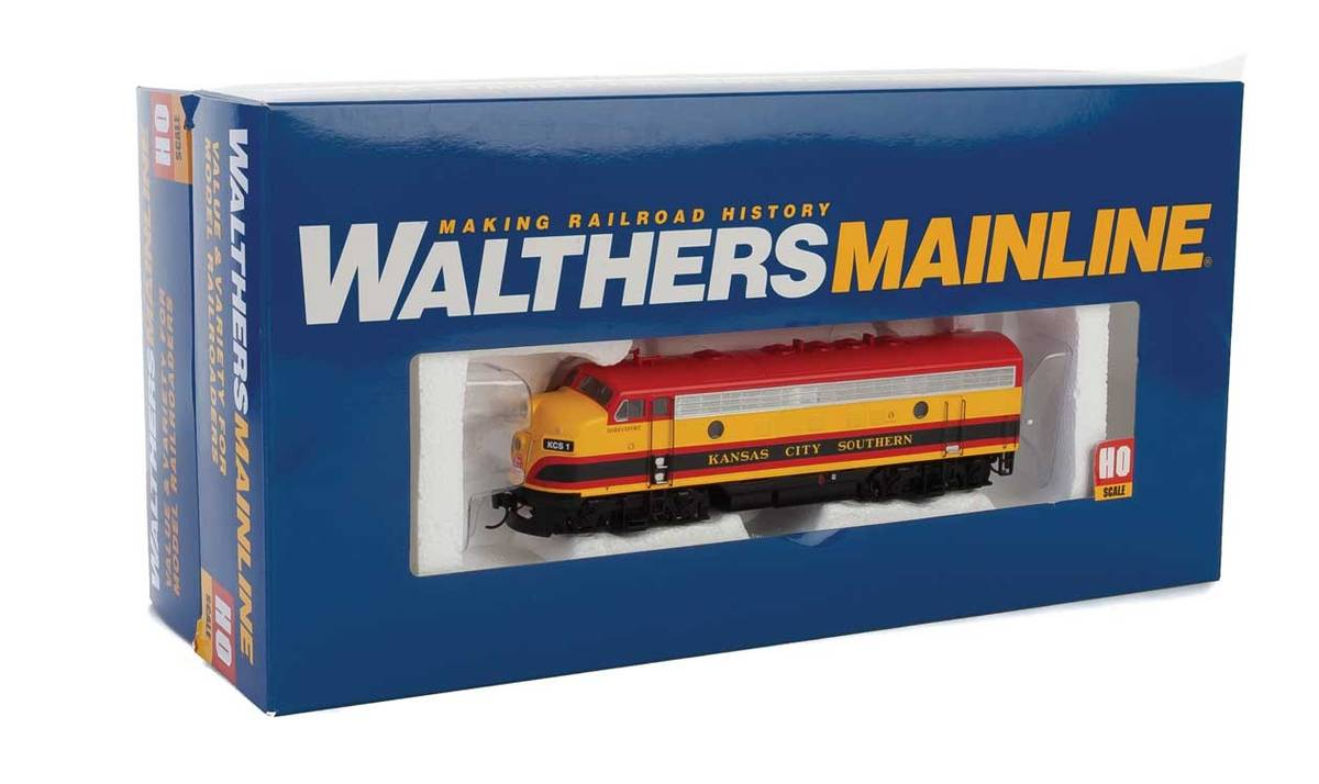 Walthers - KCS F7A/B-sett, digitalt med lyd