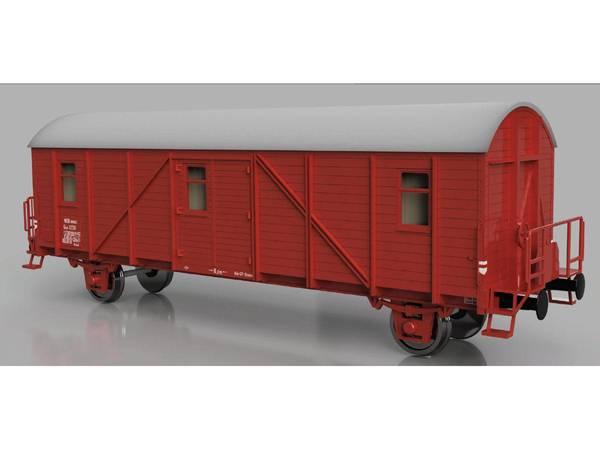 Bilde av Skala Design - NSB Gh4 hestevogn, byggesett