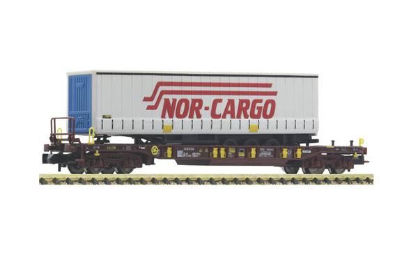 Bilde av Fleischmann N-skala - Nor Cargo brønnvogn