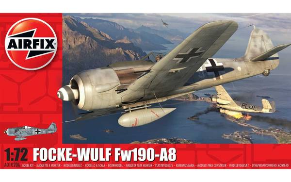 Bilde av Airfix -  1/72 Focke Wulf Fw190A-8