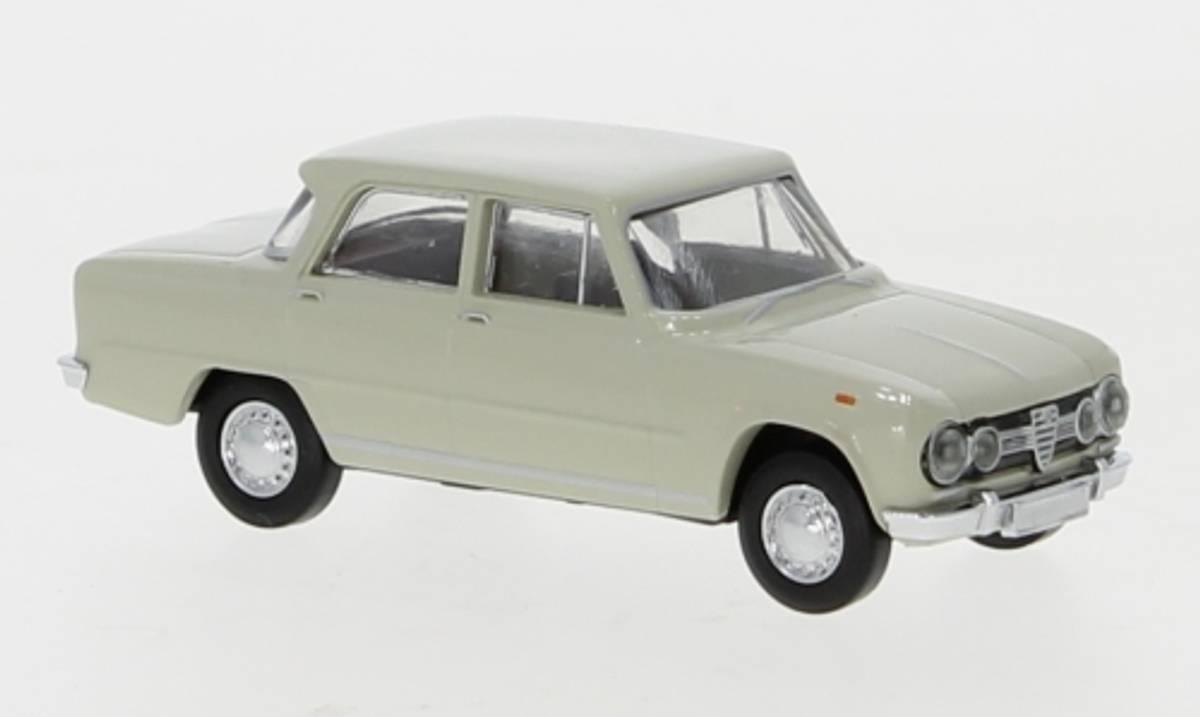 Brekina - Alfa Romeo Giulia, lys grå