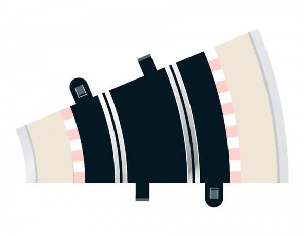 Bilde av Scalextric - Buet skinne R2.  22.5°, 2 stk
