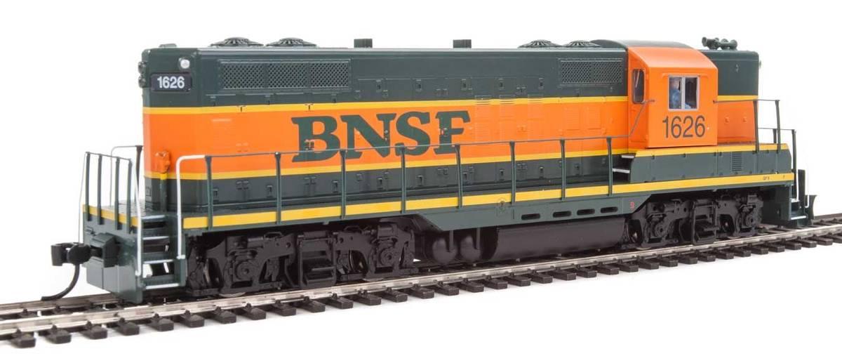 Walthers - BNSF EMD GP9 #1626, DCC Sound