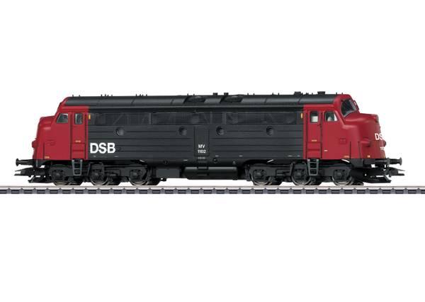 Bilde av Märklin - DSB My.1102 diesellok, digitalt m lyd
