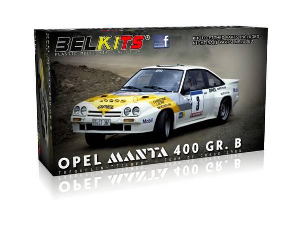 Bilde av Belkits - 1/24 Opel Manta 400 Gr.B